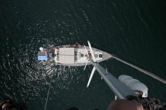 View from the mast