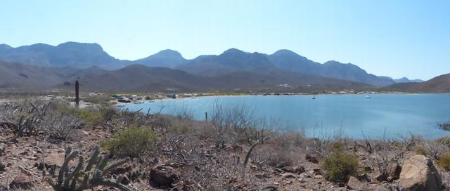 Main village, San Evaristo