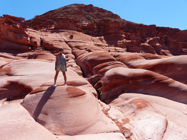 Fabulous red rocks, Los Gatos