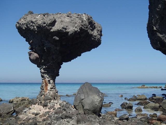 El Hongo [Mushroom Rock], Puerto Balandra
