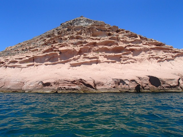 Pink at Ensenada Grande