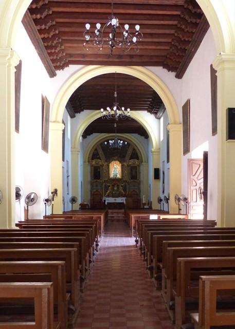 Inside Loreto Mission