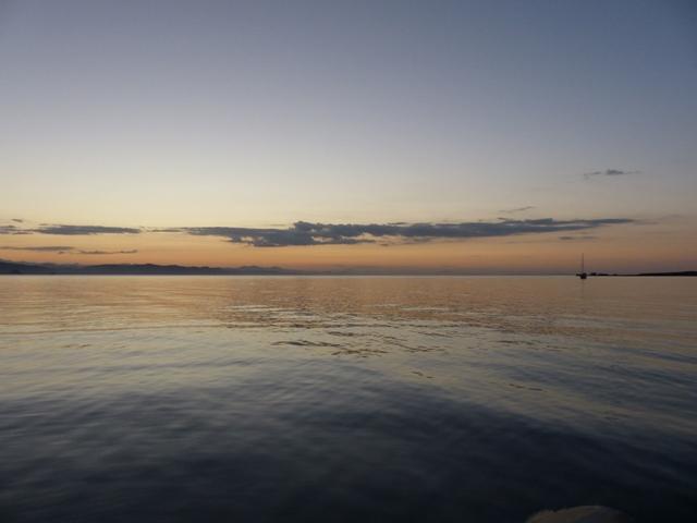 Sunset at Bahia Santa Ines