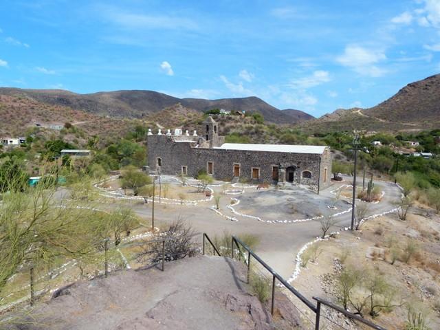 Santa Rosalia Mission, Mulege